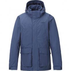 """Kurtka funkcyjna """"Luc"""" w kolorze niebieskim. Czarne kurtki męskie przeciwdeszczowe marki B'TWIN, m, z materiału. W wyprzedaży za 298,95 zł."""