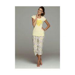 Piżama Fadia 32058-11X 32060-10X. Szare piżamy damskie marki Esotiq, z haftami, z elastanu. Za 116,90 zł.