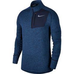 Bluza do biegania męska NIKE THERMA SPHERE ELEMENT RUNNIG TOP / 857829-474 - THERMA SPHERE TOP. Niebieskie bluzy męskie rozpinane Nike, m. Za 179,00 zł.