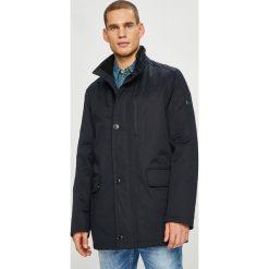 Pierre Cardin - Kurtka. Czarne kurtki męskie przejściowe marki Pierre Cardin, z bawełny. W wyprzedaży za 869,90 zł.