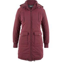 Płaszcz z ciepłym watowaniem bonprix czerwony klonowy. Czerwone płaszcze damskie bonprix. Za 189,99 zł.