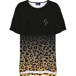 Colour Pleasure Koszulka damska CP-033 260 czarno-żółta r. uniwersalny. Czarne bluzki damskie marki Colour pleasure, uniwersalny. Za 76,57 zł.