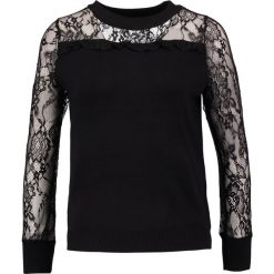 Swetry klasyczne damskie: Navy London ALLY Sweter black