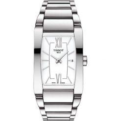 RABAT ZEGAREK TISSOT T - LADY T105.309.11.018.00. Białe zegarki damskie TISSOT, ze stali. W wyprzedaży za 1188,00 zł.
