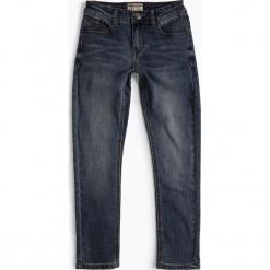 Review - Jeansy chłopięce slim fit, niebieski. Niebieskie jeansy chłopięce Review. Za 119,95 zł.