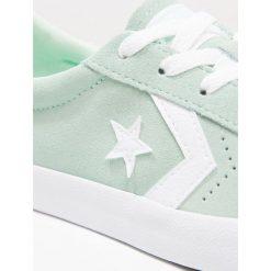 Converse BREAKPOINT Tenisówki i Trampki mint/white. Zielone trampki dziewczęce Converse, z materiału. Za 209,00 zł.