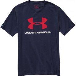 Koszulki sportowe męskie: Under Armour Koszulka Treningowa Sportstyle Logo T-Shirt M Granatowy r. M (1257615-410*M)