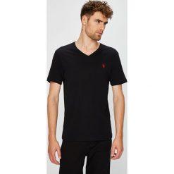 U.S. Polo - T-shirt. Szare koszulki polo U.S. Polo, l, z bawełny. W wyprzedaży za 139,90 zł.