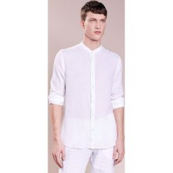 Koszule męskie na spinki: 120% Lino CAMICIA UOMO GURU Koszula white