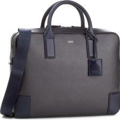Torba na laptopa BOSS - Digital 50311987  401. Niebieskie plecaki męskie Boss. W wyprzedaży za 1109,00 zł.