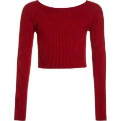 Swetry dziewczęce: Benetton Sweter red