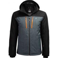 Kurtka narciarska męska  KUMN606 - głęboka czerń - Outhorn. Czarne kurtki męskie Outhorn, m, z meshu. Za 399,99 zł.