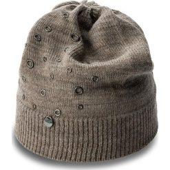 Czapka LIU JO - Cappello Applicazion N67248 M0300  Pale Brwon 60205. Niebieskie czapki zimowe damskie marki WED'ZE, z materiału. W wyprzedaży za 179,00 zł.