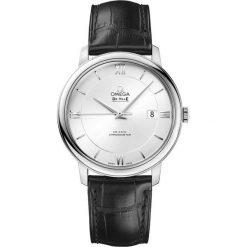 ZEGAREK OMEGA DE VILLE 424.13.40.20.02.001. Szare zegarki męskie marki OMEGA, szklane. Za 12800,00 zł.