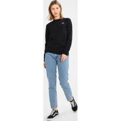 Bluzki asymetryczne: Dickies ROUND ROCK Bluzka z długim rękawem black