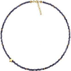 Naszyjniki damskie: Naszyjnik z kwarców – (D)38 cm