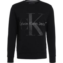 Calvin Klein Jeans HICUS TRUE ICON  Bluza black. Czarne kardigany męskie marki Calvin Klein Jeans, l, z bawełny. W wyprzedaży za 359,20 zł.