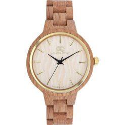 Zegarek Giacomo Design Drewniany  damski  GD18003. Różowe zegarki damskie Giacomo Design. Za 429,00 zł.