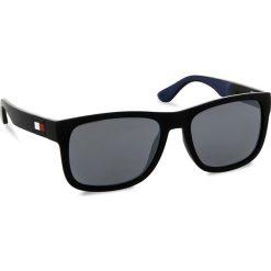 Okulary przeciwsłoneczne damskie aviatory: Okulary przeciwsłoneczne TOMMY HILFIGER – 1556/S Nero Blu D51