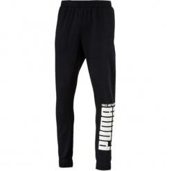 Puma Rebel Bold Pants Fl Cotton Black Xxl. Niebieskie spodnie dresowe męskie marki Oakley, na lato, z bawełny, eleganckie. Za 195,00 zł.