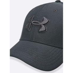 Under Armour - Czapka. Szare czapki z daszkiem męskie Under Armour, z elastanu. W wyprzedaży za 69,90 zł.