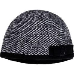 Czapki zimowe damskie: Szara czapka z kokardą QUIOSQUE