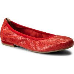 Baleriny CAPRICE - 9-22100-20 Red Multi 538. Czerwone baleriny damskie zamszowe Caprice. W wyprzedaży za 159,00 zł.