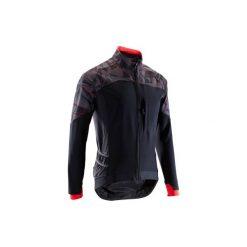 Koszulka na rower MTB ST 500 męska. Czarne odzież rowerowa męska marki KALENJI, m, z elastanu, z krótkim rękawem, do biegania. Za 199,99 zł.
