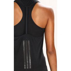Adidas Performance SUPERNOVA FRAN TANK Koszulka sportowa black. Czarne topy sportowe damskie adidas Performance, xl, z materiału. Za 149,00 zł.