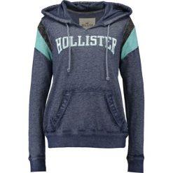 Bluzy rozpinane damskie: Hollister Co. SPORTY LOGO Bluza z kapturem blue