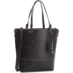 Torebka JENNY FAIRY - RC12533 Czarny. Czarne torebki klasyczne damskie marki Jenny Fairy, ze skóry ekologicznej. Za 119,99 zł.