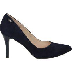 Czółenka - Z6047154 BLU. Czarne buty ślubne damskie Venezia, ze skóry. Za 319,00 zł.