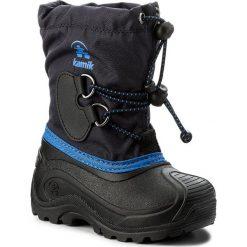 Buty zimowe chłopięce: Śniegowce KAMIK – Southpole4 NK8727  Navy