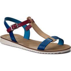Sandały damskie: Sandały PORRONET - WP0-2201 Granatowy