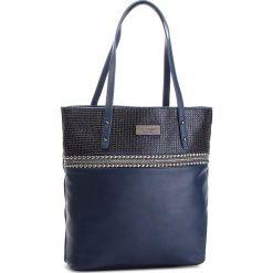 Torebka MONNARI - BAG9320-013 Navy. Niebieskie torebki klasyczne damskie marki Monnari, ze skóry ekologicznej. W wyprzedaży za 199,00 zł.