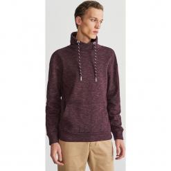 Bluza z kominowym kołnierzem - Bordowy. Czerwone bluzy męskie rozpinane marki KALENJI, m, z elastanu, z długim rękawem, długie. Za 99,99 zł.