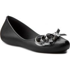 Baleriny ZAXY - Luxury Fem 82108 Black 90058 W285025. Czarne baleriny damskie Zaxy, z tworzywa sztucznego. W wyprzedaży za 109,00 zł.