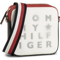 Torebki klasyczne damskie: Torebka TOMMY HILFIGER - Logo Story Crossover Transparent AW0AW05253 901