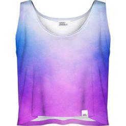 Colour Pleasure Koszulka damska CP-035 40  fioletowa r. M-L. T-shirty damskie Colour pleasure, l. Za 64,14 zł.