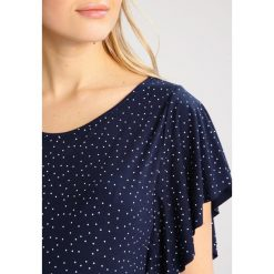 T-shirty damskie: 9Fashion OVA Tshirt z nadrukiem dark blue polka