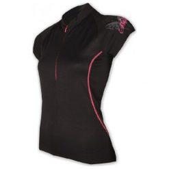 Bluzki sportowe damskie: Sensor Koszulka Entry W Black S