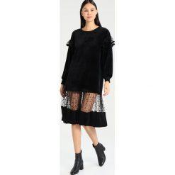 Sukienki hiszpanki: Navy London ROXANNE Sukienka letnia black