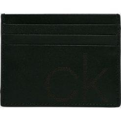 Calvin Klein - Portfel skórzana. Czarne portfele męskie marki Calvin Klein, z materiału. Za 159,90 zł.
