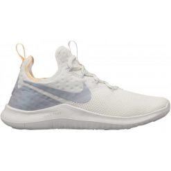 Buty sportowe damskie: Nike Damskie Buty Free Tr 8 Rise Summit White Wolf Grey-Pure Platinum, 38