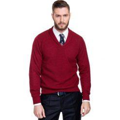 Sweter GERALDO SWTR000156. Białe swetry klasyczne męskie Giacomo Conti, m, z tkaniny. Za 229,00 zł.