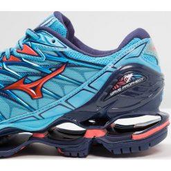 Buty sportowe damskie: Mizuno WAVE PROPHECY 7 Obuwie do biegania treningowe aquarius/hot coral/patriot blue