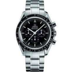 ZEGAREK OMEGA Speedmaster Professional 311.30.42.30.01.006. Czarne zegarki męskie marki KALENJI, ze stali. Za 21400,00 zł.