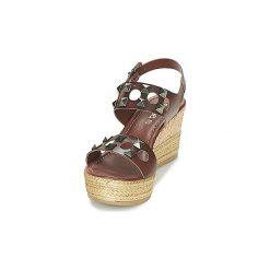 Sandały Samoa  MAT. Brązowe sandały trekkingowe damskie marki Samoa. Za 244,30 zł.