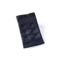 Naturana  Wstawka poszerzająca obwód biustonosza dla kobiet karmiących 4,0 cm kolor czarny. Czarne bielizna ciążowa Naturana, z materiału. Za 12,00 zł.