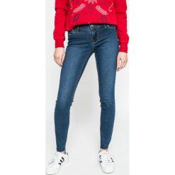 Vero Moda - Jeansy. Niebieskie jeansy damskie marki Vero Moda. W wyprzedaży za 89,90 zł.
